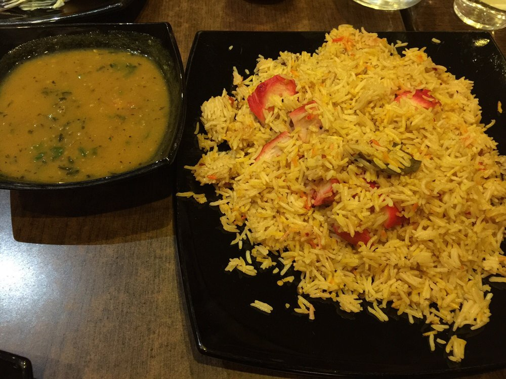 Chicken biryani with curry sauce yelp - Marinade poulet curry barbecue ...