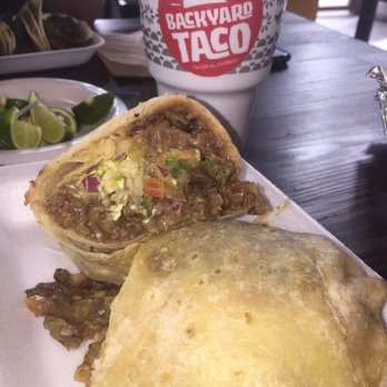 Photo Of Backyard Taco   Gilbert, AZ, United States. The Inside Of My