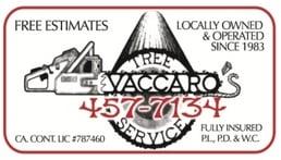 Vaccaro's Tree Service: 57 Manor Rd, Fairfax, CA