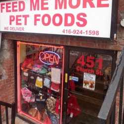 feed me more pet foods 12 reviews pet stores 451 church stphoto of feed me more pet foods toronto, on, canada