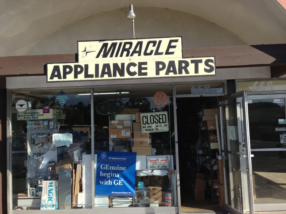 Miracle Appliance Parts Appliances Amp Repair Thousand