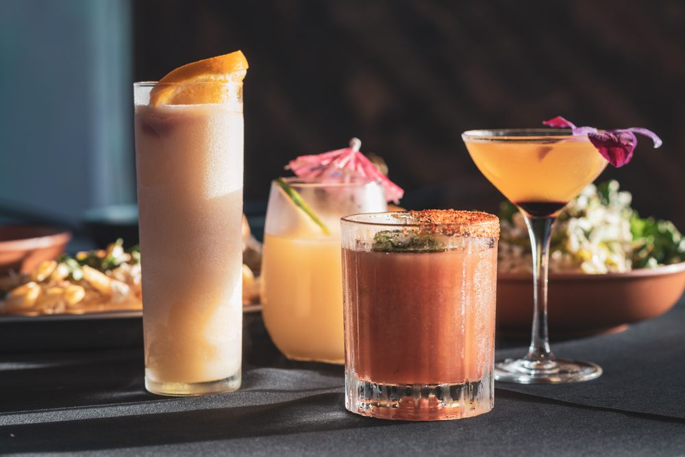 Tropics Cocktail Bar: 1 S Atlantic Ave, Cocoa Beach, FL