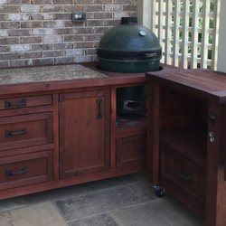 Photo Of Rustic WoodWorx   Alpharetta, GA, United States. Big Green Egg  Grill