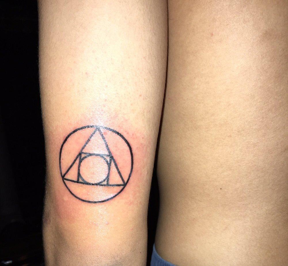 Bfs Tattoo Of The Mental Alchemy Symbol Yelp