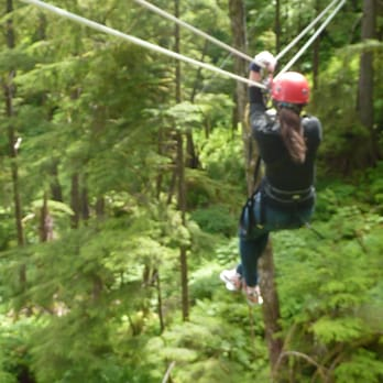 Photo of Alaska Canopy Adventures - Ketchikan AK United States. Fun in the : canopy adventures - memphite.com