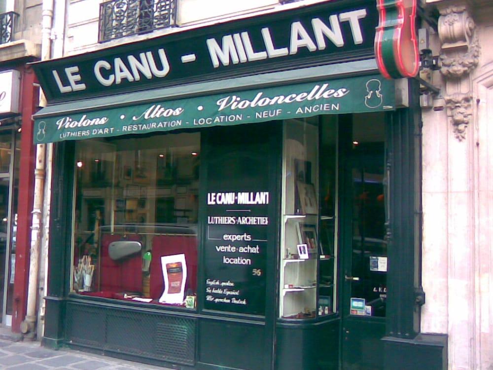 le canu millant musical instruments teachers 56 rue de rome saint lazare grands magasins. Black Bedroom Furniture Sets. Home Design Ideas