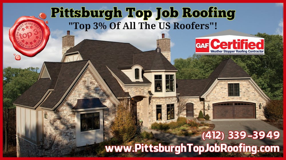 Top Job Roofing   22 Photos   Roofing   123 Leon Rd, Greentree, Pittsburgh,  PA   Phone Number   Yelp
