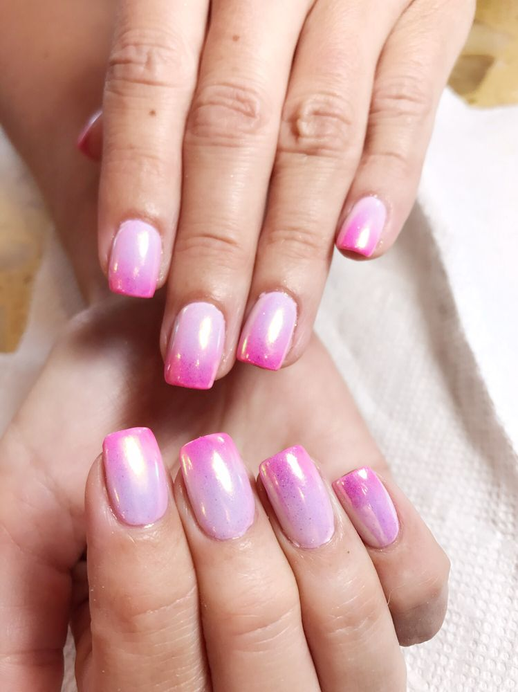 Ombré nails color with Unichrome - Yelp