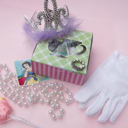 Photo of Olde English Tea Room - Wake Forest, NC, United States. Princess Party Favor Box