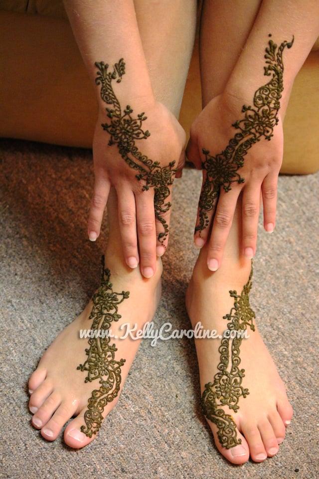 Henna Tattoo Designs Or A Fun Girls Day Girls Birthday Ideas