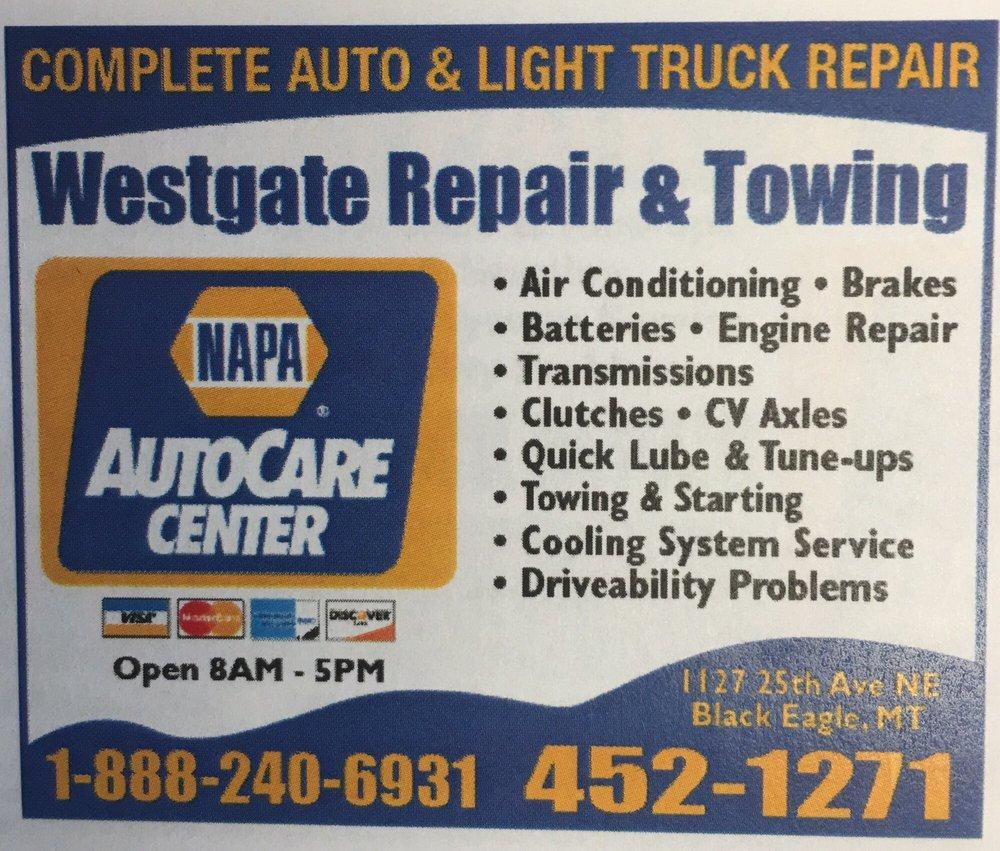 Westgate Repair & Towing: Black Eagle, MT