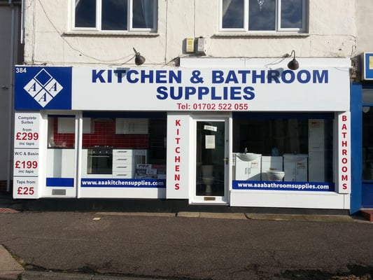 Bathroom Showrooms Essex aaa kitchen & bathroom supplies - kitchen & bath - 384 rayleigh