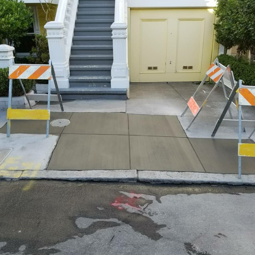 BlockBusters Concrete: 270 Divisadero, San Francisco, CA