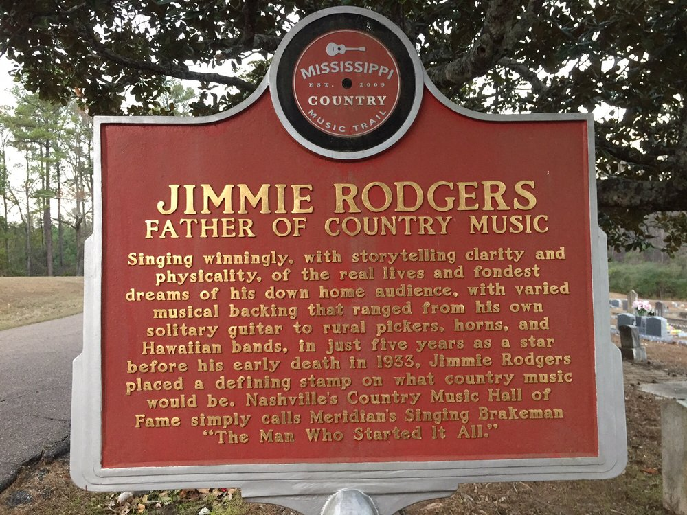 Jimmie Rodgers Museum: 2118 Front St, Meridian, MS