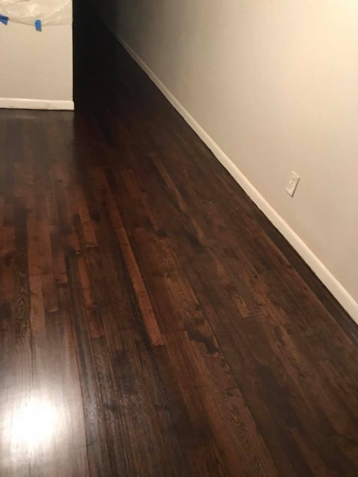 Refinish Floor Water Pop Style Stain Color Dura Seal Coffee
