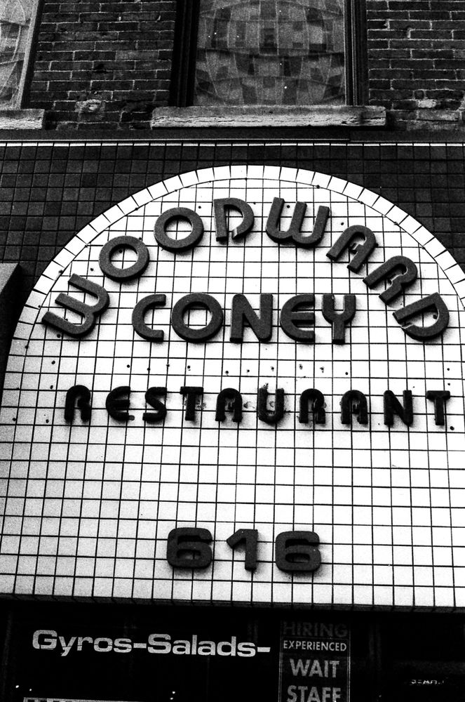 Woodward Coney Restaurant: 616 Woodward Ave, Detroit, MI