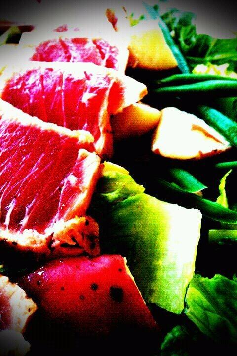 Sushi grade ahi tuna nicoise salad yelp for Sushi grade fish near me