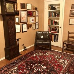 Photo Of Mansour S Oriental Rug Gallery Sacramento Ca United States Den With