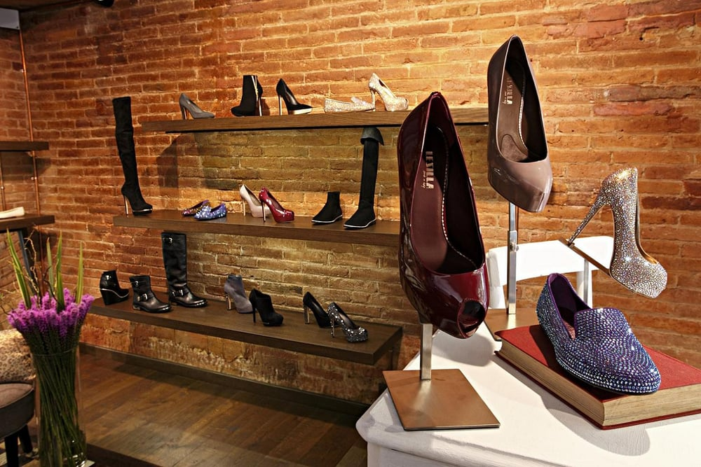 cherry heel luxury shoe boutique magasins de chaussures carrer mallorca 273 l 39 eixample. Black Bedroom Furniture Sets. Home Design Ideas