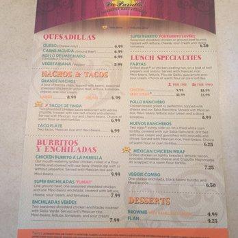 La Parrilla Mexican Restaurant In Alpharetta Ga