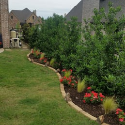 Photo Of Summit Lawn Landscape Rockwall Tx United States Beautifully Landscaped
