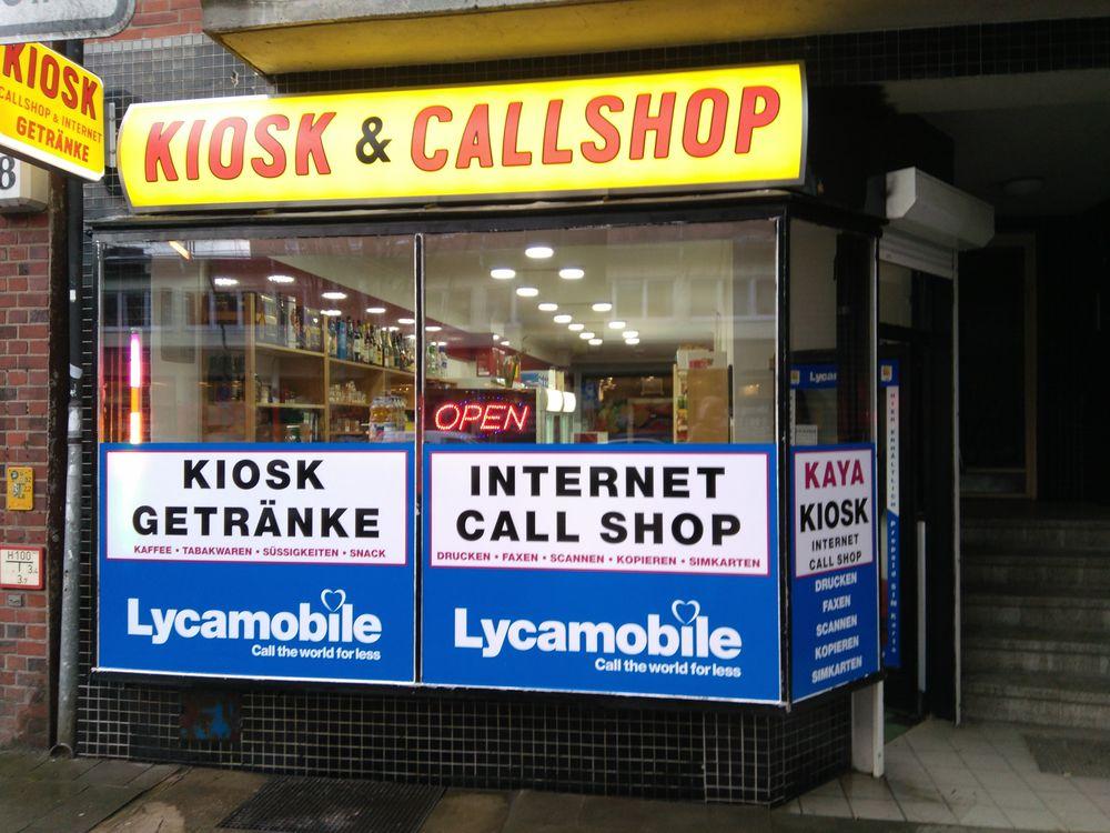 Kiosk & Internet Callshop Kaya - Kiosk - Eimsbütteler Chaussee 16 ...