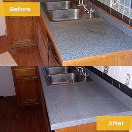 Photo Of Best Kansas City Refinishing   Raytown, MO, United States. Stained  Countertop