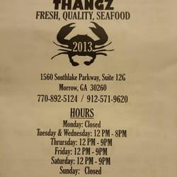 Seafood Restaurants In Morrow Ga
