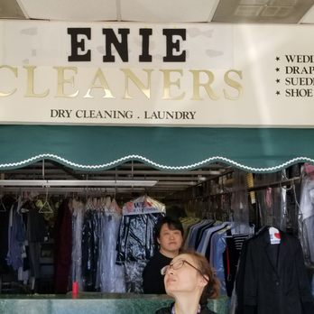 See the sign, that's my name  Cleaning and stitching is my
