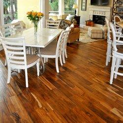 Photo Of The Floor Trader   Jacksonville, FL, United States. Installed  Heritage Acacia