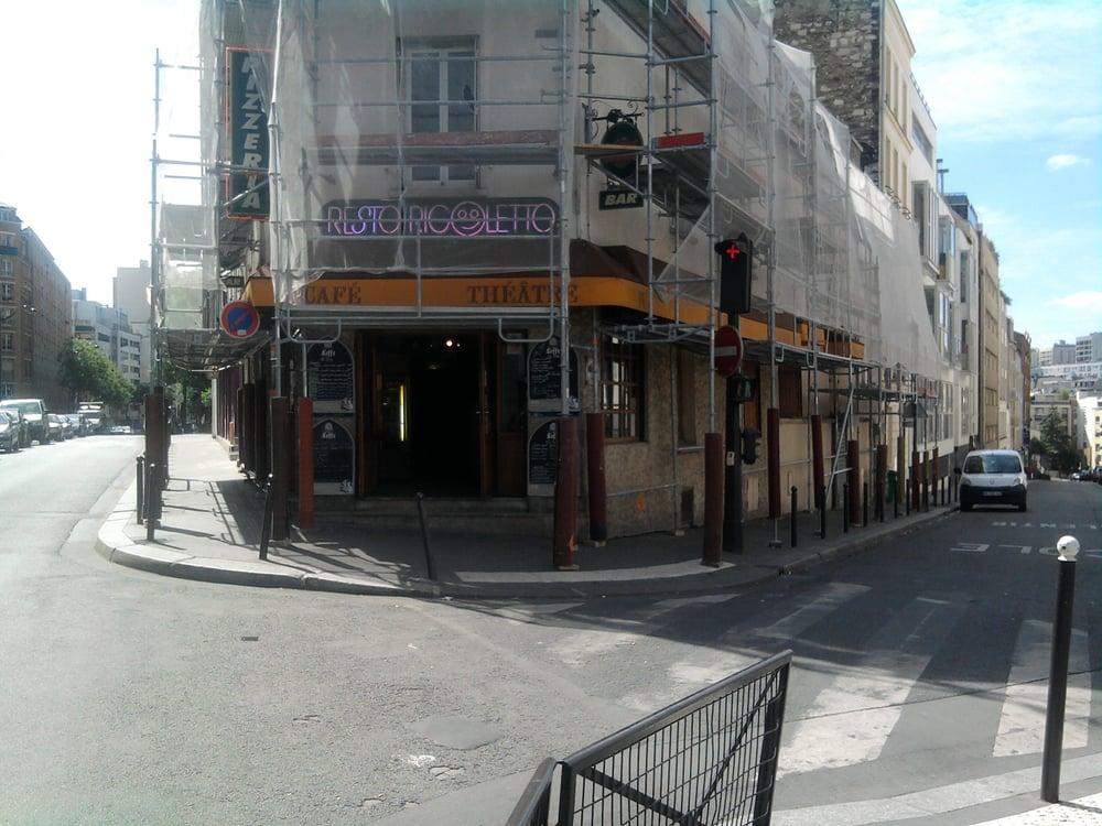 Resto rigoletto music venues 337 rue belleville mairie des lilas t l graphe paris france - Restaurant porte des lilas ...