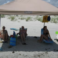 Photo of In The Shade Beach Canopies - Sunset Beach NC United States. & In The Shade Beach Canopies - 12 Photos - Party Equipment Rentals ...