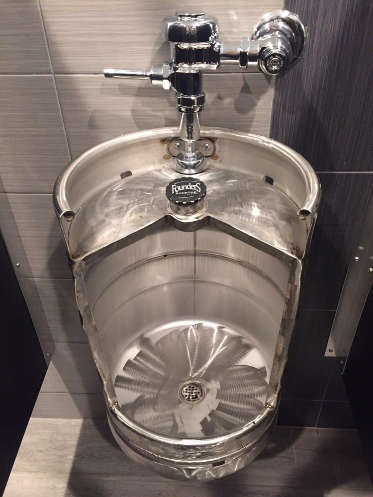gotta luv the keg urinal yelp. Black Bedroom Furniture Sets. Home Design Ideas