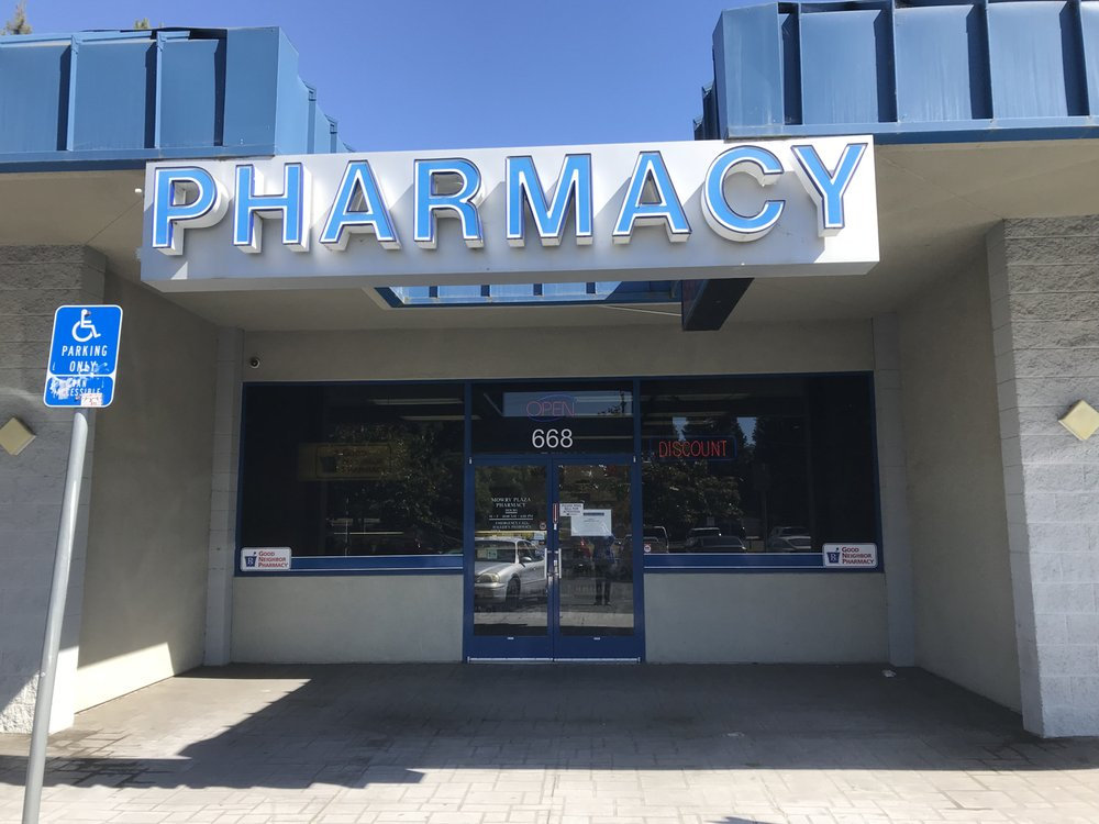 Mowry Plaza Pharmacy: 668 Mowry Avenue, Fremont, CA