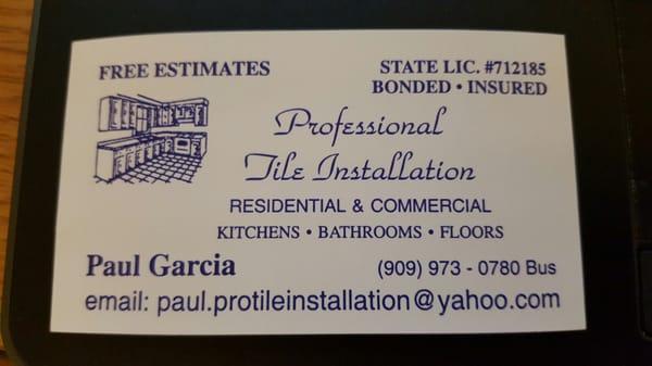 Professional tile installation tiling diamond bar ca phone photo for professional tile installation ppazfo