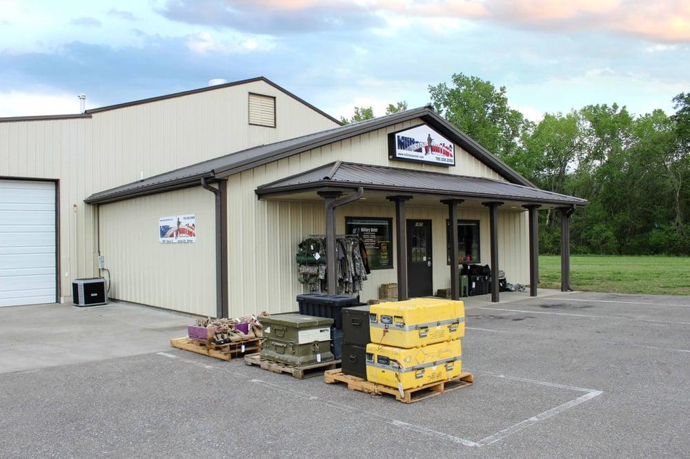 Military Outlet: 1805 N Monroe St, Junction City, KS
