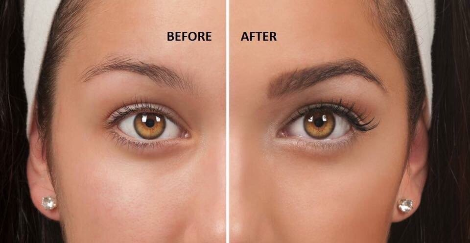 Before After For Eyebrows Tinting Lash Extensions Brow Threading
