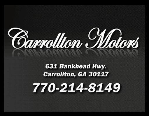 Carrollton Motors 631 Bankhead Hwy Carrollton, GA Truck Dealers-New - MapQuest