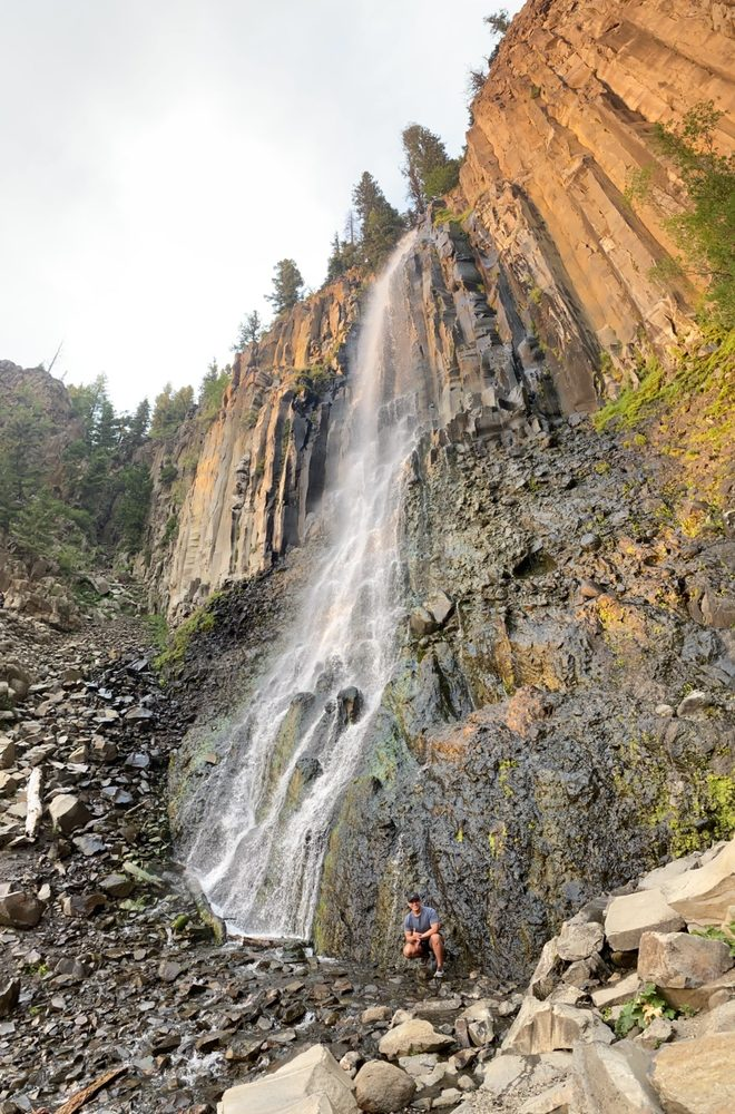 Palisade Falls: Livingston, MT
