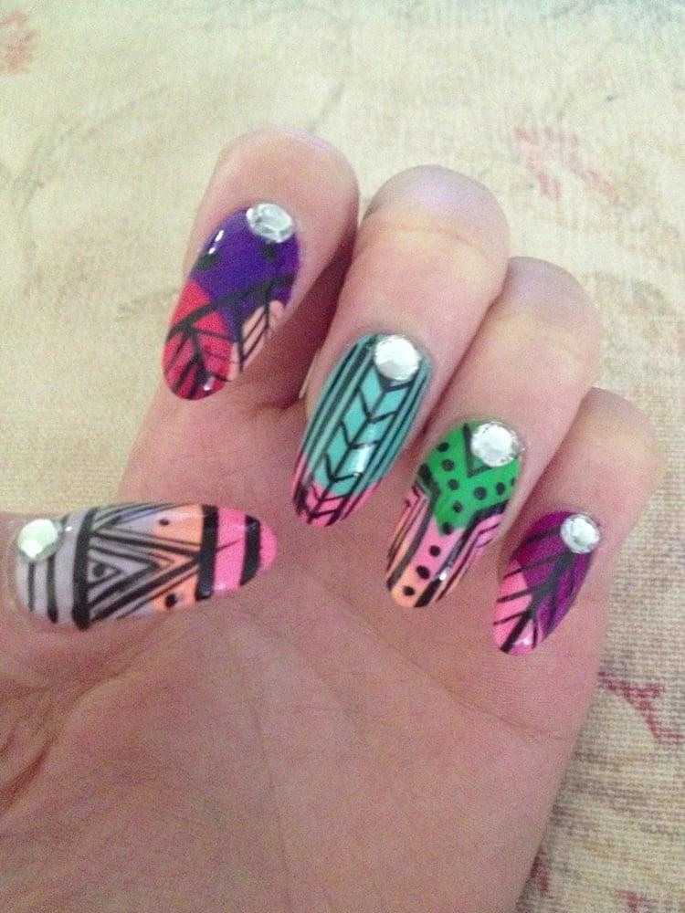 Julie nails nail salons 180 buffalo st hamburg ny for Acrylic nail salon nyc