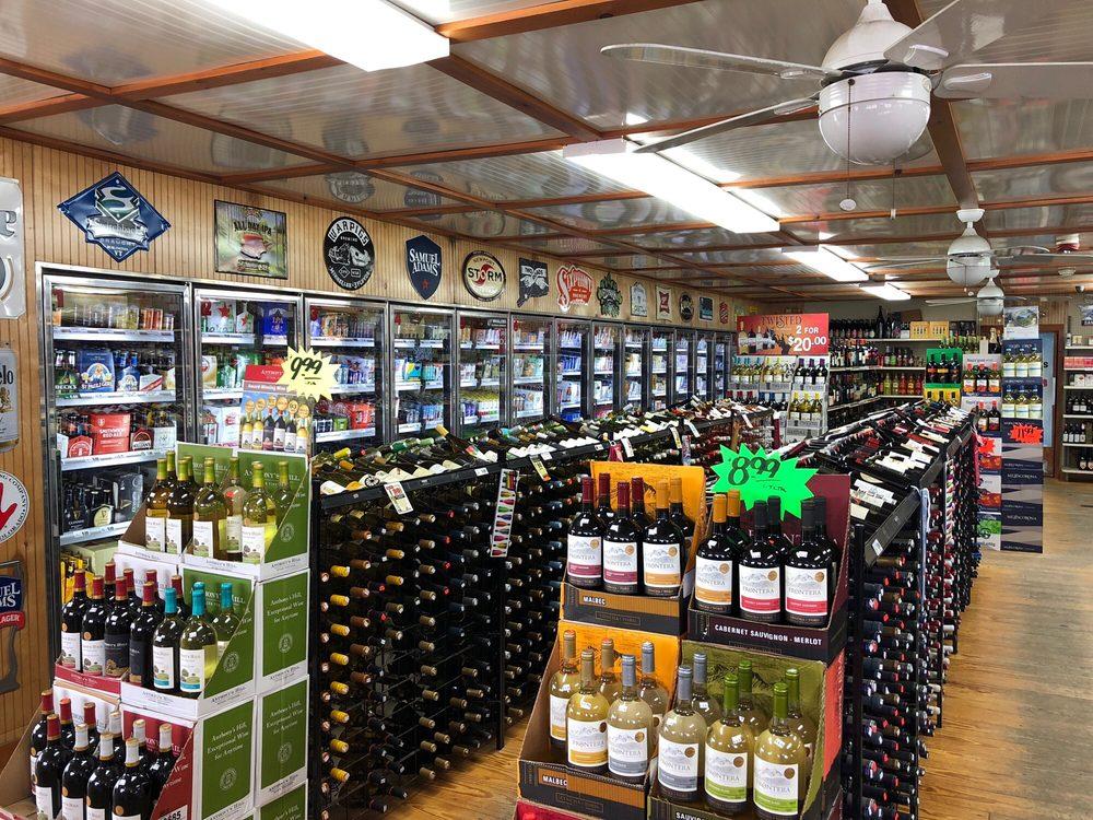 Wyoming Package Store: 1199 Main St, Wyoming, RI