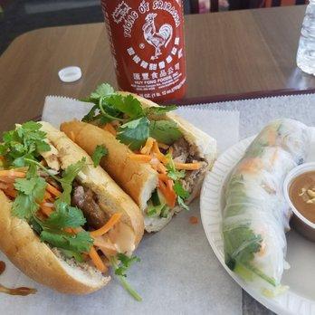 Photo Of An Nam Vietnamese Grill Marlborough Ma United States Pork Banh