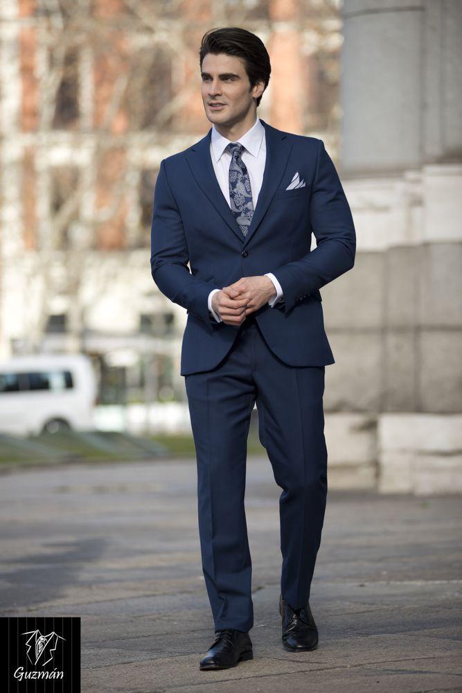 e371d0d2995b9 Alquiler traje azul tinta Trajes Guzmán - Yelp