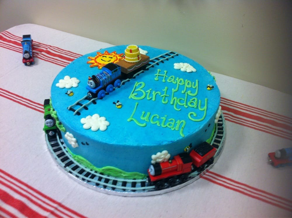 Thomas And Friends Birthday Cake Yelp