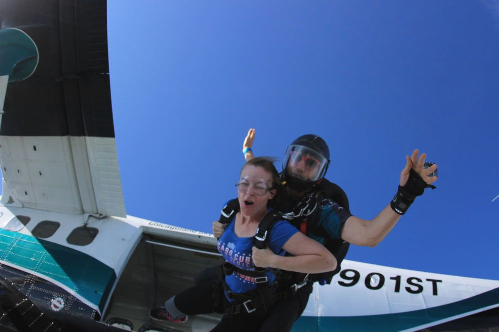 Chicagoland Skydiving Center: 1207 E Gurler Rd, Rochelle, IL