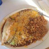 Photo Of Mi Patio   Phoenix, AZ, United States. Taco And Enchilada Combo