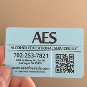 ... Photo of Alcohol Educational Services - Las Vegas, NV, United States ...