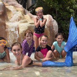 Photo Of Myrtle Beach Mermaids Surfside Sc United States Mermaid Birthday