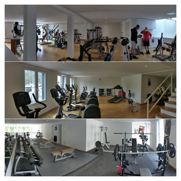 old school gym 24 fitnessstudio chaltenbodenstrasse 26. Black Bedroom Furniture Sets. Home Design Ideas