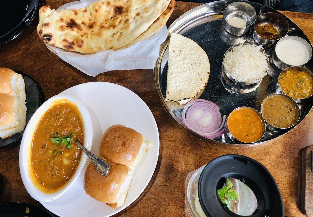 Punjabi Thali And Pav Bhaji Yelp